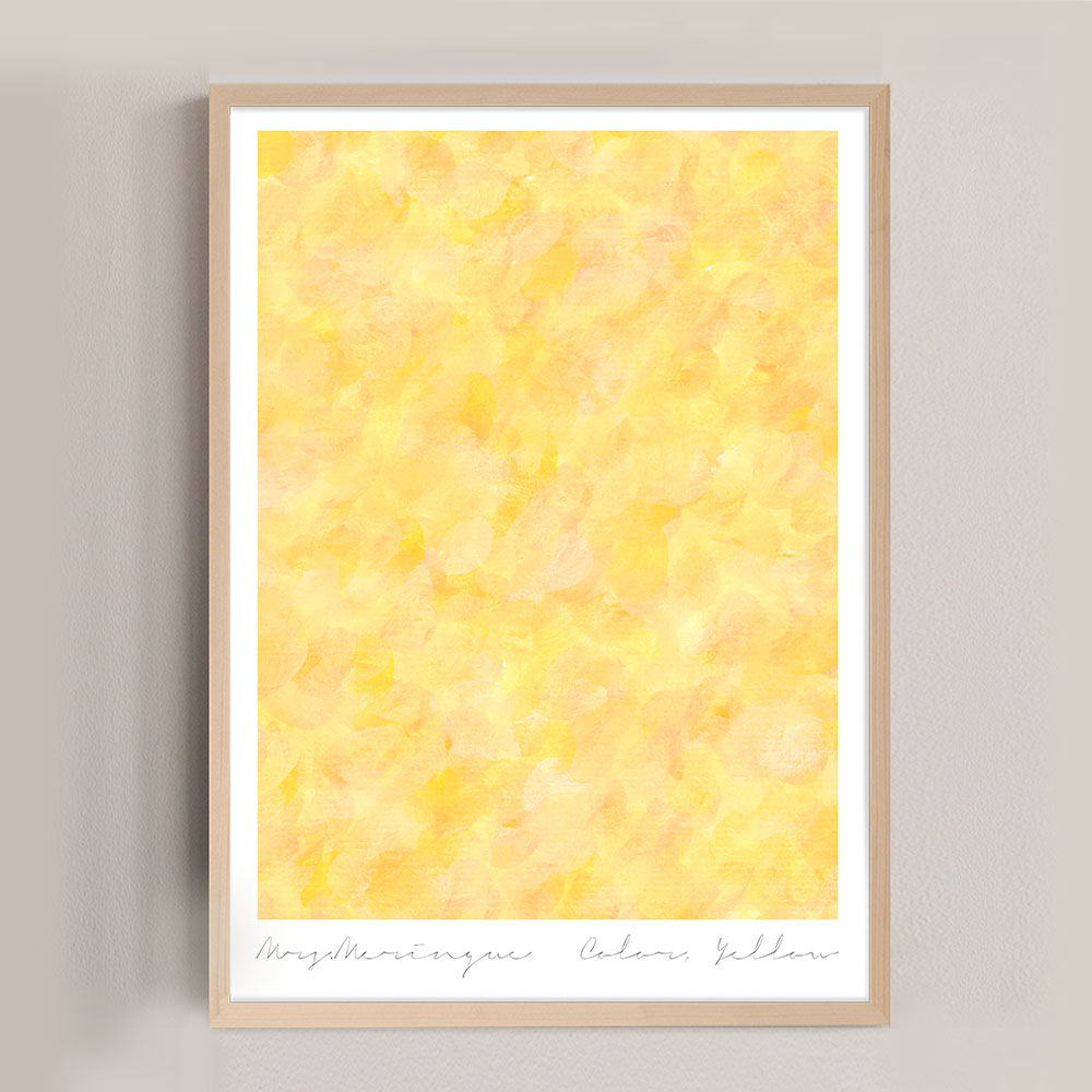 Colors, Yellow poster